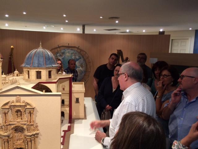 Visita guiada por el Museo de la Festa, Misteri d'Elx